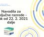 Obvestilo o vrnitvi zaključnih razredov k pouku v ponedeljek, 22. 2. 2021